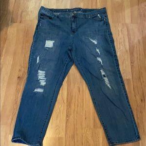 Jennifer Lopez Boyfriend Jeans